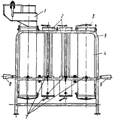 Общая схема газогенераторной